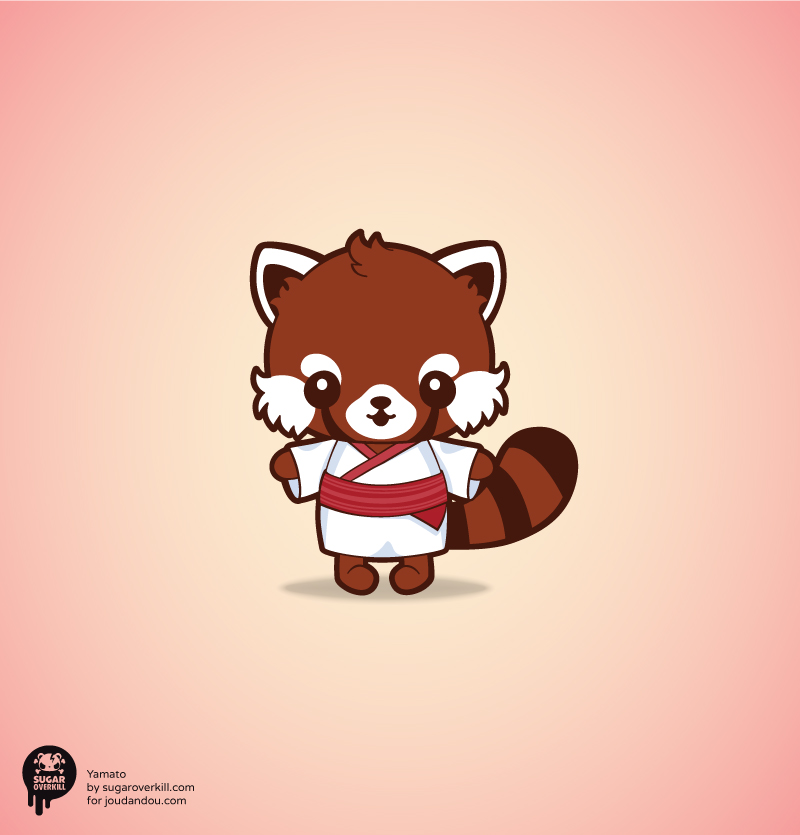 Chibi red panda - photo#25
