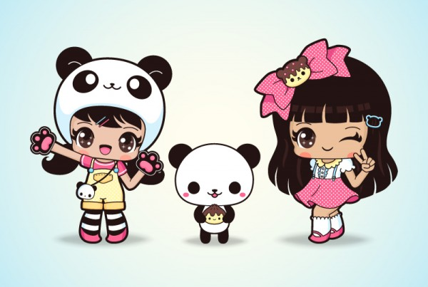 Cute Panda Anime Girl Characters Home Exsplore