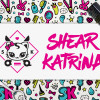 Shear Katrina Kawaii Cat Logo Graffiti Handdrawn Punk