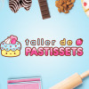 kawaii cute cake bakery logo brand